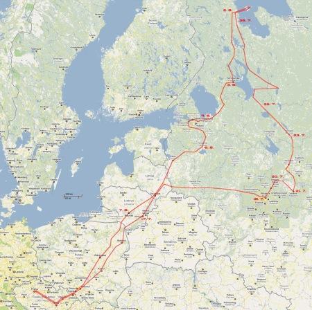 Mapa...